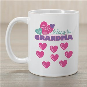 Custom Printed Grandma Mug | Personalized Gifts For Grandma