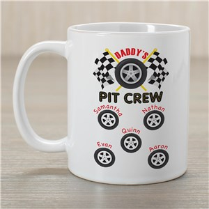 Custom Printed Pit Crew Mug | Custom Coffee Mug