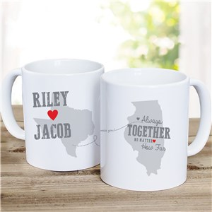 Couples Relationship Mug | Personalized Valentine's Day Gifts