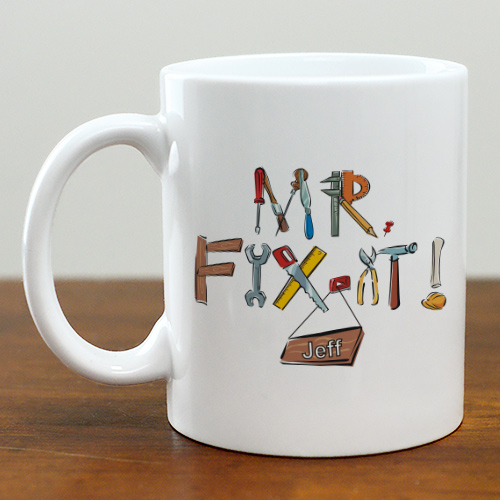 Mr. Fix-It Tools Coffee Mug | Customizable Coffee Mugs