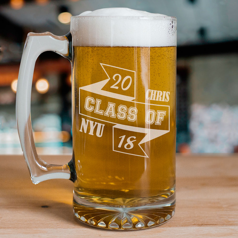 Class Of Graduation Beer Mug | Graduation Cups Personalized