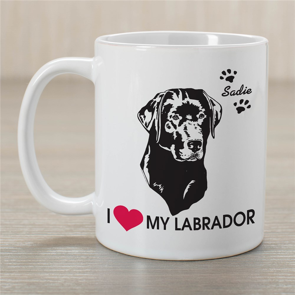 Personalized Dog Coffee Mug | Customizable Coffee Mugs
