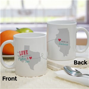 Long Distance Mug | Customizable Coffee Mugs