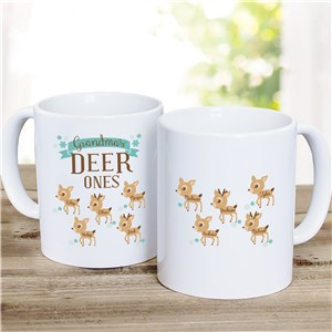 Deer Ones Mug | Customizable Coffee Mugs | Mom Cups