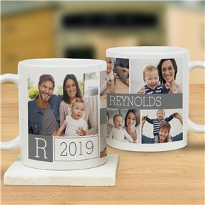 Family Photo Collage Mug | Custom Coffee Mug