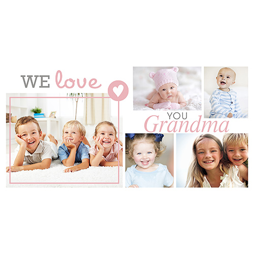 We Love Grandma Photo Mug | Personalized Gifts For Grandma