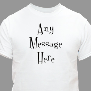 Personalized Mystical Message T-Shirt | Personalized T-Shirts