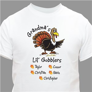 Lil' Gobblers T-Shirt | Personalized T-Shirts