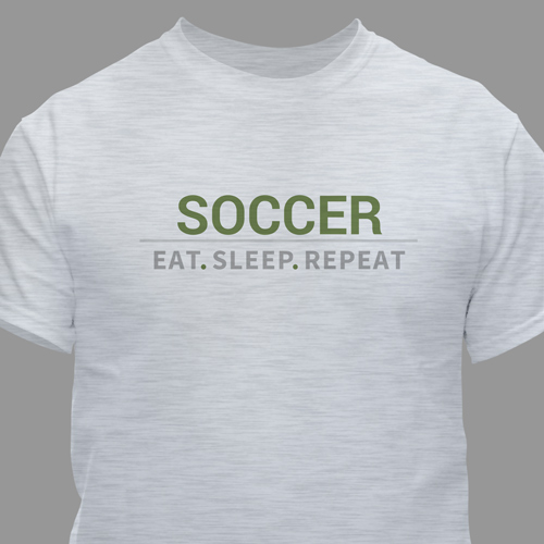 Personalized Eat Sleep Repeat T-shirt | Father's Day Shirts