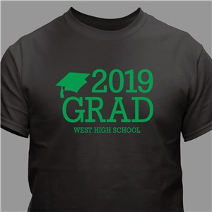 Personalized Grad T-Shirt | Personalized T-shirts