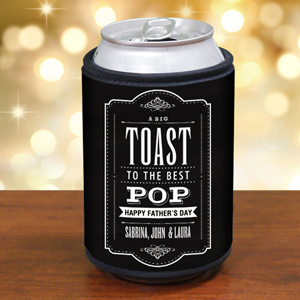 Personalized Toast to Dad Can Wrap 3103189