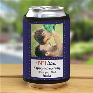 Personalized No. 1 Dad Can Wrap | Personalized Photo Gifts