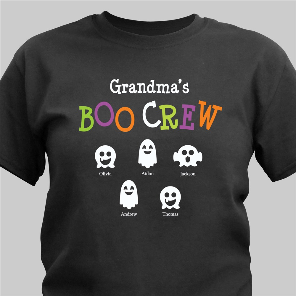 Boo Crew Personalized T-Shirt | Personalized Halloween Shirts