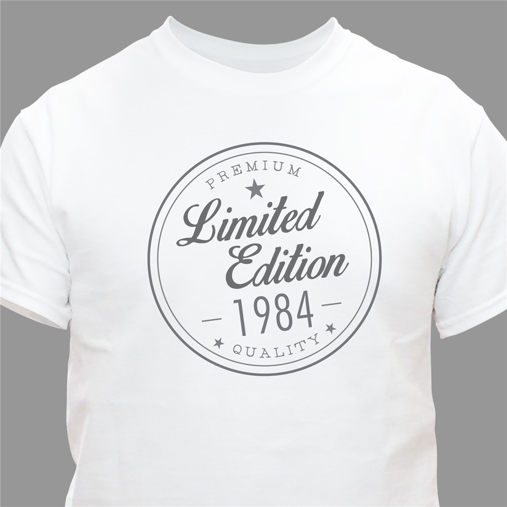 Personalized Limited Addition T-shirt | Personalized Gifts for Him