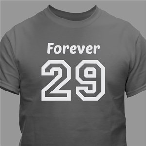 Personalized Birthday Message T-Shirt | Personalized T-shirts