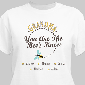 Personalized You Are The Bee's Knees T-Shirt 310540X
