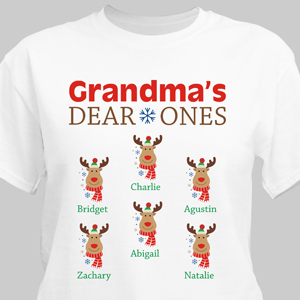 Personalized Deer Ones T-Shirt 310545X