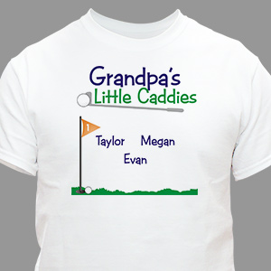 Little Caddies T-Shirt | Personalized T-shirts