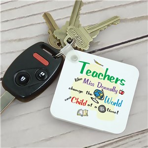Personalized Gifts For Teachers | Teacher Keychain