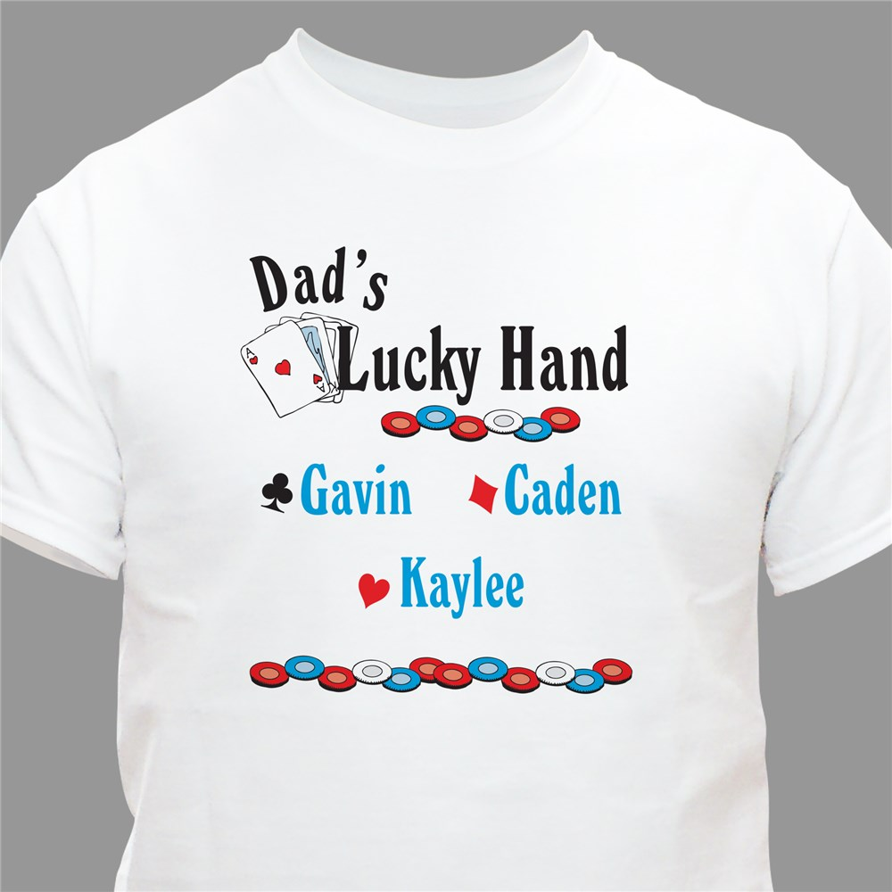 Personalized Card Player T-shirt | Personalized T-shirts
