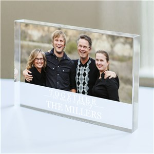 Personalized Together We Make a Family Keepsake | Personalized Keepsakes