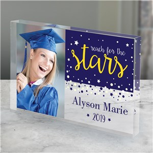 Personalized Reach for the Stars Keepsake | Personalized Graduation Gifts