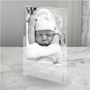 Personalized Baby Photo Keepsake | Personalized Keepsakes