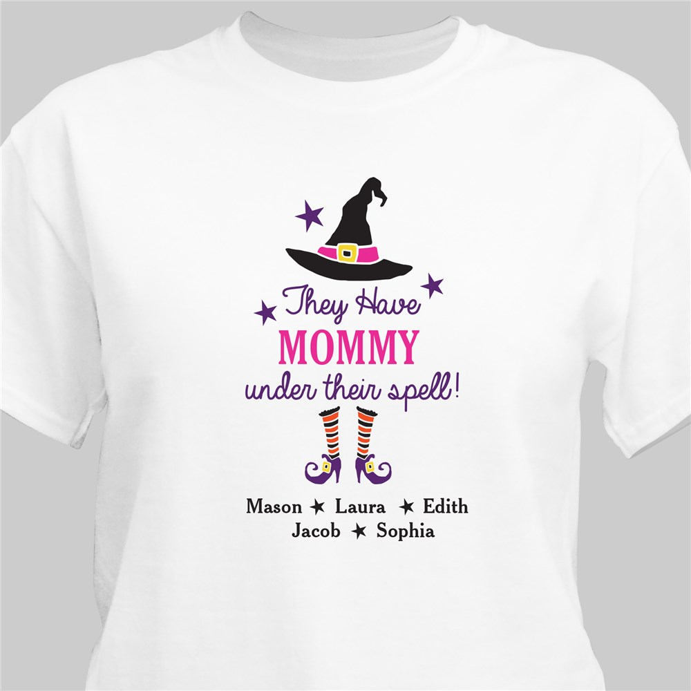 Personalized Under Their Spell T-Shirt | Personalized T-shirts