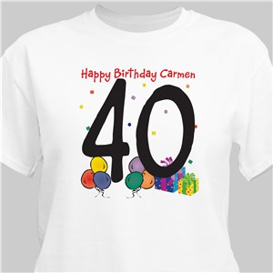 Happy Birthday T-Shirt | Personalized T-shirts