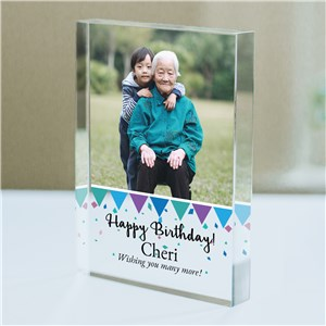 Personalized Photo Birthday Acrylic Keepsake | Photo Gifts