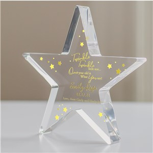 Personalized Twinkle Twinkle Star | Personalized Birthday Gifts For Kids
