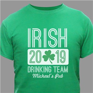 Unique St. Patrick's Day Shirt | Personalized Irish Shirts