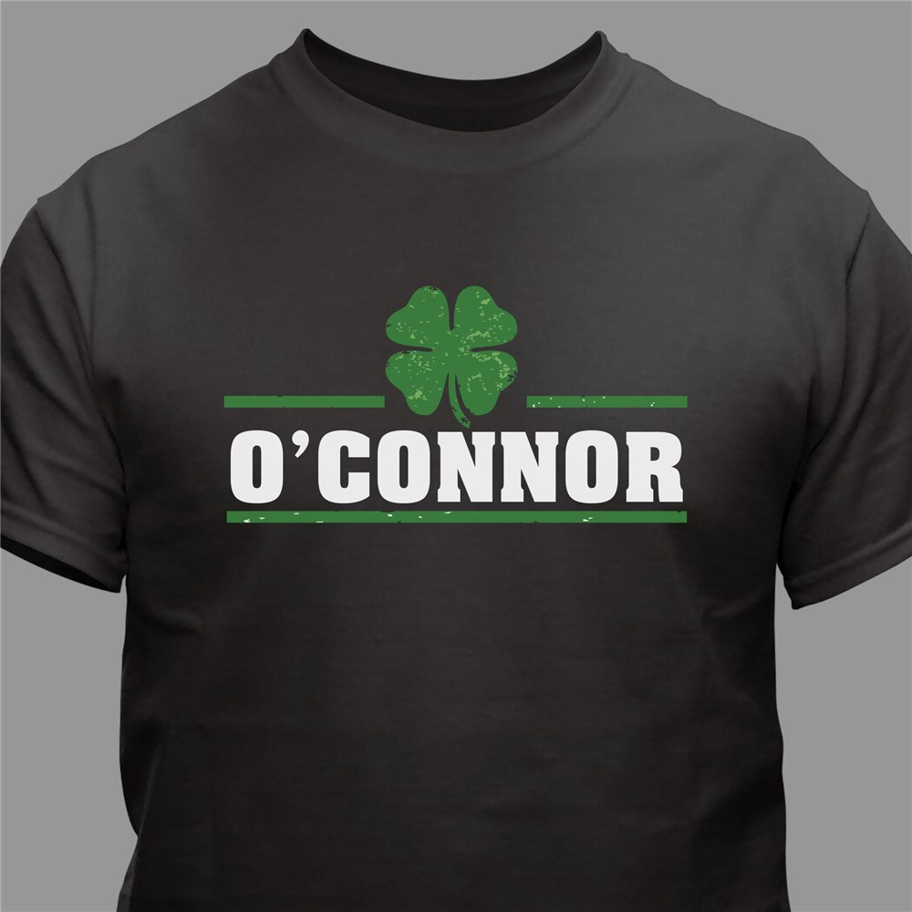 Personalized Lucky Clover T-Shirt | St. Patrick's Day Shirts