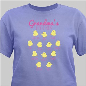 Personalized Grandmas Peeps T-Shirt | Personalized Grandma Shirts For Easter