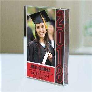 Personalized Graduation Photo Keepsake | Graduation Photo Gifts