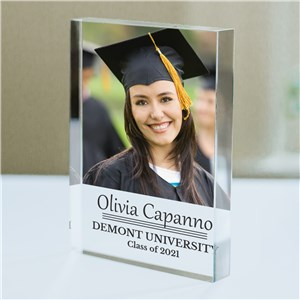 Personalized Photo Graduation Keepsake | Graduation Photo Gifts