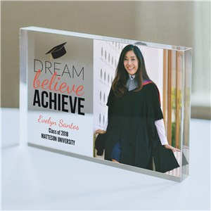 Personalized Dream Photo Keepsake | Personalized Graduation Gifts