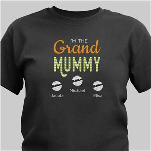 Personalized Im The Grand Mummy T-Shirt | Halloween Shirts For Grandma