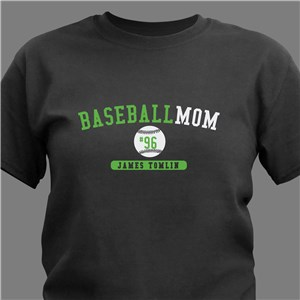 Personalized Sports Parent T-Shirt | Personalized Sports Mom Shirts