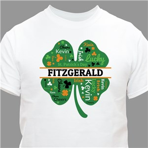 Personalized Shamrock TShirts | Personalized Irish Shirts