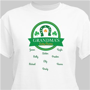 Personalized Horseshoe Lucky Charm T-Shirt 314165X