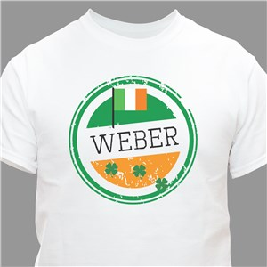 Personalized Irish Shirts | Irish Flag Shirts