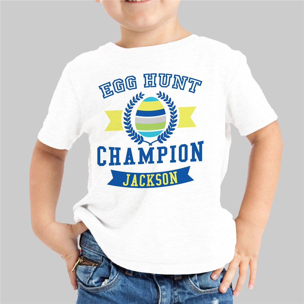 Personalized Easter Shirts For Kids | Egg Hunter Shirt