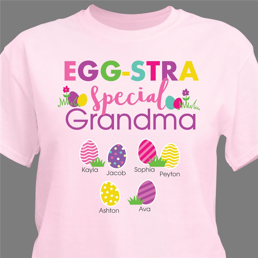 Easter Shirts For Grandma | Personalized Shirts