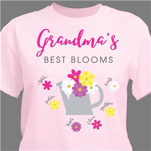 Spring T-Shirt | Personalized Shirt For Grandma