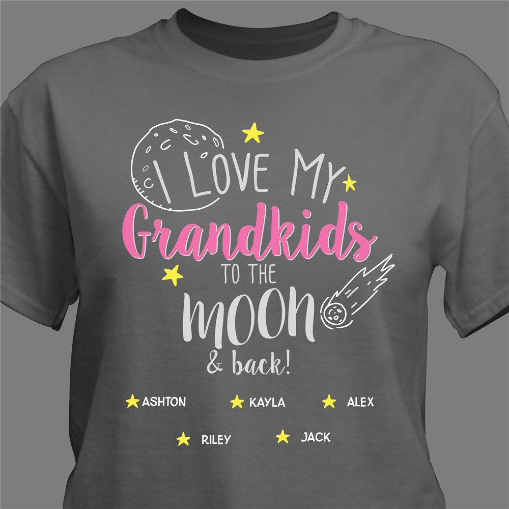 Moon and Back Gifts | Grandma Shirts