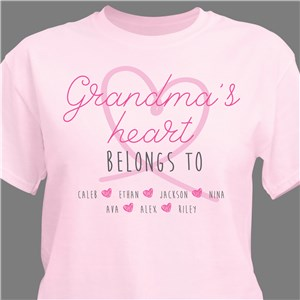 Grandma T-Shirt | Personalized Gifts For Grandma