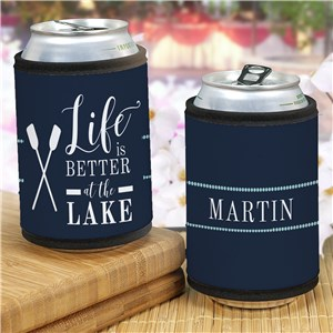 Personalized Can Wrap For The Lakehouse | Personalized Lakehouse Gifts
