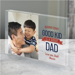 Behind Every Good Kid Personalized Acrylic Keepsake 3145464