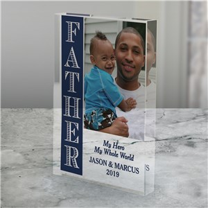 Personalized My Hero Acrylic Keepsake 3145474